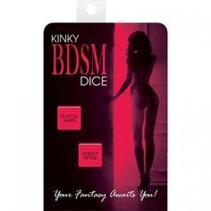 Ya puedes comprar en Sex Shop Caprichoyplacer, tu tienda erótica online, DADOS SEXUALES ATREVIDOS
