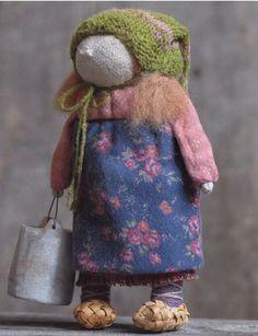 Детские куклы и обереги от Яны Волковой) YanaPrya.