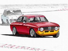 Alfa Romeo Giulia GT1300 junior