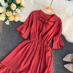 Elegant Dresses, Casual Dresses, Summer Dresses, Summer Outfits, Modesty Fashion, Fashion Dresses, Pretty Outfits, Pretty Dresses, Dress Card