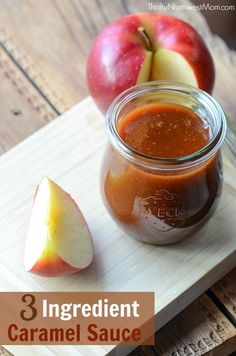 The best part about this DIY caramel sauce is that you use everyday ingredients!