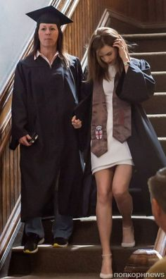 Emma officially graduates from Brown University in Providence, RI on May, 25