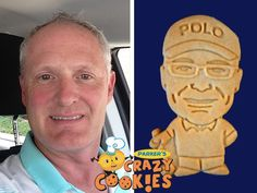 This golfer couldn't get over the adorable custom cookies from Parker's Crazy Cookies that his wife ordered for his birthday party. These were party favors everyone loved!