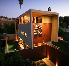 Sustainable Home by Architect Jonathan Segal - Smart, Contemporary, Off the Power Grid | Modern House Designs