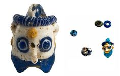 Face bead and other apotropaic items from Ancient Bulgaria