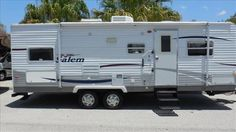Check out this 2007 Forest River Salem 26TBSS listing in Nokomis, FL 34275 on RVtrader.com. It is a  Travel Trailer and is for sale at $9490.