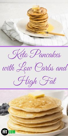 If you are in search for a low-carb version of a pancakes recipe then these pancakes are a perfect answer to your search. In these keto pancakes coconut flour is the main ingredient which is the most suitable choice for a low-carb diet. Diabetic Food List, Diabetic Recipes, Low Carb Recipes, Diet Recipes, Pre Diabetic, Delicious Recipes, Healthy Food, Healthy Recipes, Keto Pancakes Coconut Flour