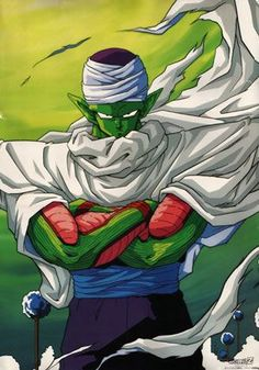 I have wanted a Piccolo tattoo since I was about 16. He will always be my favorite DBZ character