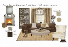 Family Room... LUXE interiors by anne.
