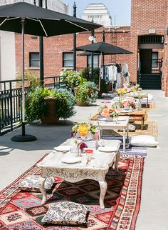 Moroccan Rooftop Brunch Launch Party - Inspired By This
