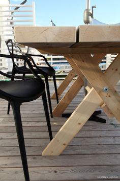 DIY: terassin pöytä - Valkoinen Harmaja | Divaaniblogit