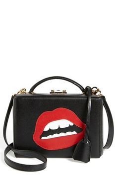 Mark Cross 'Grace - Lips Small' Box Trunk available at #Nordstrom