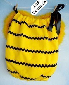 Cute bumblebee costume