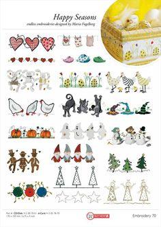 Husqvarna VIKING® Embroidery Catalogue, 5/2012
