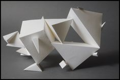 paper sculpture by herobers.deviantart.com on @deviantART