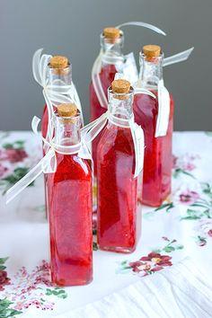 Fresh Strawberry Liqueur