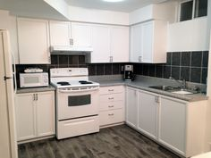Kitchen cabinets repainted…