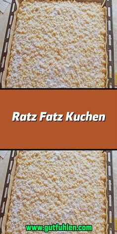 Ratz Fatz Kuchen Ingredients For the dough: 200 g sugar 4 eggs 200 g flour 1 tsp baking powder For the crumble: 250 g butter 250 g sugar … Easy Cookie Recipes, Cake Recipes, Dessert Recipes, Food Cakes, Lemon Desserts, Easy Desserts, Dessert Parfait, Chocolate Cake Recipe Easy, Chocolate Crepes