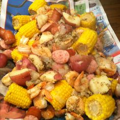 Cajun food at its finest. Love me some lowcountry boil!
