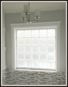 who doesnt have one of these glass block windows in their bathroom - Bathroom Window