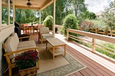 Comfortable Classic Patio Design