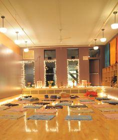 NYC's most beautiful yoga studios: Bija Yoga