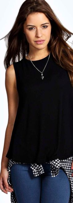 Petite Alice Swing Vest - Tops  - Street Style, Fashion Looks And Outfit Ideas For Spring And Summer 2017