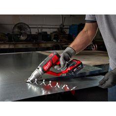 18V Cordless 18 Gauge Double Cut Shear Kit   Milwaukee Tool