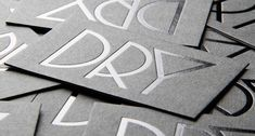 sophisticated business logos using metalic ink - Google Search