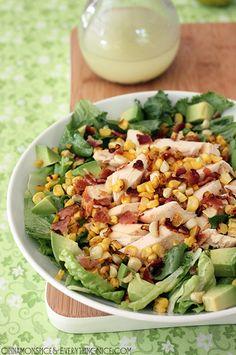 Chicken Bacon Corn Salad