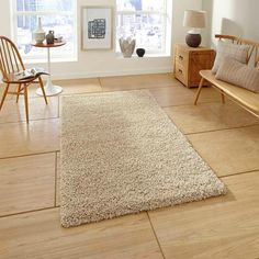 Buy Loft Beige Heavy Shaggy Rug By Think Rugs from TheRugShopUK at huge discount rates and save upto with free and fast delivery, price match promise. Bold Colors, Colours, Shaggy Rug, Traditional Decor, Beige Color, Discount Designer, Branding Design, Plush, Loft