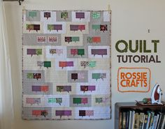 I've got two quilts in the show at Quilt Con this week.  I blogged about the one on the left fairly recently (you can read about it here and here), but the one on the right has only made…