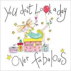 Day over Fabulous - greetings cards for women from Phoenix Trading £1.75 each or £1.40 when buying 10 or more.