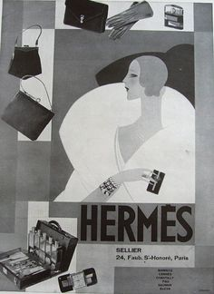 A collection of Vintage adverts and Fashion illustrations which issued in French magazines before the digital era. Original prints and image files can be purchased. Mode Vintage, Vintage Ads, Vintage Posters, Hermes Vintage, Retro Advertising, Vintage Advertisements, Bijoux Art Deco, Supreme Wallpaper, Illustrations