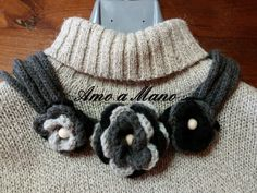 Collana di lana , by Amo a Mano, 8,50 € su misshobby.com