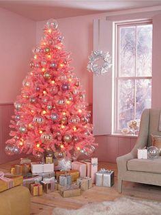 a70dd4f745e5b Holiday Decorating Idea  Pink holiday cheer.  holiday  decorations  pink   christmas