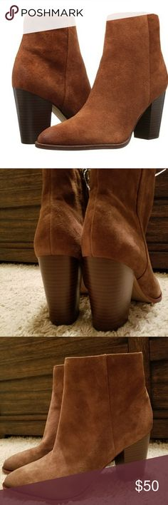 Brown Sam Elderman boots New Brown Sam Elderman Blake boots. Size 10. Beautiful suede with a chunky heal. Sam Edelman Shoes Ankle Boots & Booties