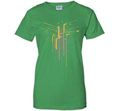 Becoming Digital Geometric Art 2017 T Shirt