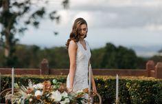 Floral Design | Woods & Bloom | Wedding inspiration at Flaxton Gardens, Sunshine Coast by Shae Estella Photo. http://estella-photography.com