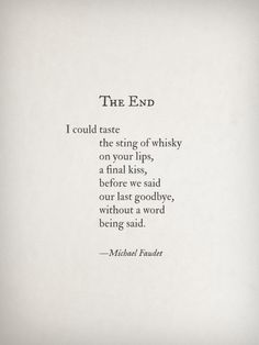 The End by Michael Faudet