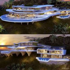 """Luxury Homes Interior Dream Houses Exterior Most Expensive Mansions Plans Modern 👉 Get Your FREE Guide """"The Best Ways To Make Money Online"""" Futuristic Architecture, Amazing Architecture, Architecture Design, Dream House Exterior, Dream House Plans, Dream Home Design, Modern House Design, Dream Mansion, Mansion Homes"""