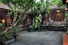 Check out this awesome listing on Airbnb: The Most Beautiful Balinese house in Ubud Indonesian Decor, Balinese Decor, Balinese Garden, Indian Garden, Bali House, Backyard House, Courtyard House, Ubud, Bali Style Home