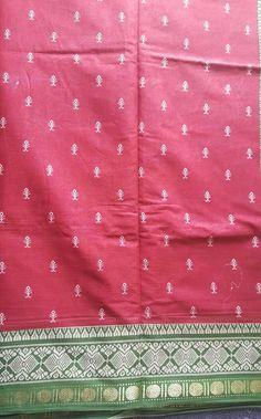 Vantage pure cotton handbook saree by COLOURMEHAPPYY on Etsy