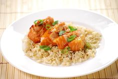 Spicy Soy Salmon