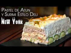 Mousse, Spanish Cuisine, Peruvian Recipes, Fish And Seafood, Deli, Sushi, Main Dishes, Cake Recipes, Sandwiches