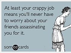 Just a heads up that I have no intention of stabbing you 23 times on the Ides of March. | Friendship Ecard