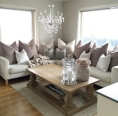 Home Decorating Style 2019 for Mink Sofa Living Room Ideas, you can see Mink Sofa Living Room Ideas and more pictures for Home Interior Designing 2019 at Best Home Living Room. Living Room On A Budget, Cozy Living Rooms, Living Room Sofa, Apartment Living, Home And Living, Living Room Decor, Living Spaces, Dining Room, Living Room Inspiration