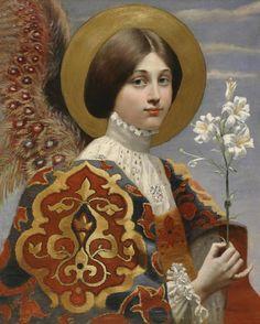 Ágel de la Anunciación, siglo XIX.