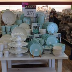 Tiffany blue dishes at HomeGoods!!!!