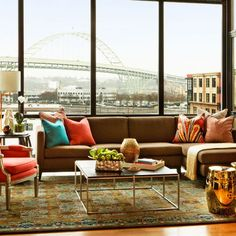 Urban Apartment Living Room. Looks like Sioux City, LoL.